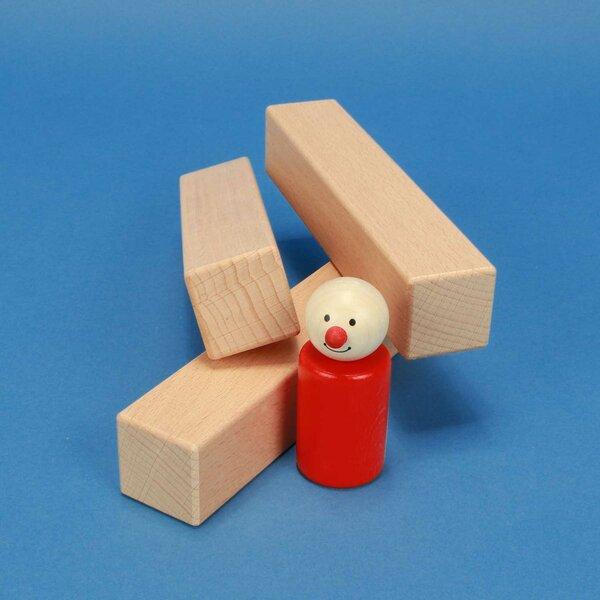 Holzbausteine 15 x 3 x 3 cm