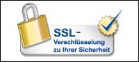 SSl-Verschlüsselung zu Ihrer Sicherheit